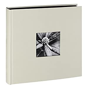 Hama Fine Art Jumbo - Álbum de fotos, 100 páginas, 50 hojas, 30 x 30 cm