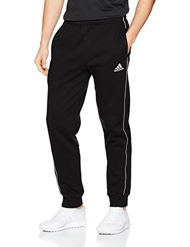 Adidas Herren Core 18 Trainingshose, Black/White, L