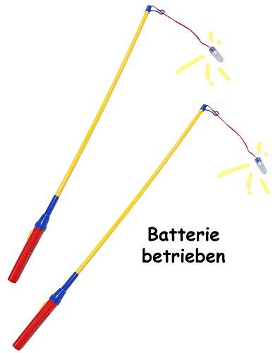 Preisvergleich Produktbild alles-meine.de GmbH 1 Stück _ Laternenstab - elektrisch für Batterie - z. B. für Lampions & Laternen - 72 cm - Laternenumzug - Mädchen Jungen / Kinder - Papierlaterne - Teleskop ..