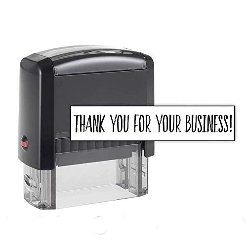 Custom Stamp - 20 Font Options - Self-Inking Address Stamp - 1 Line