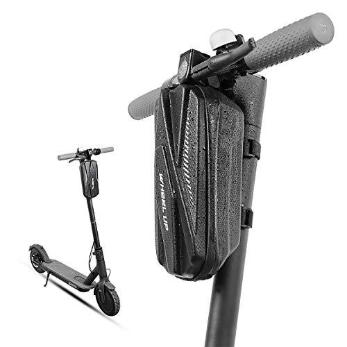 MidGard Bolsa para manillar de patinete eléctrico, bolsa para scooter eléctrico, bolsa rígida de 3 l