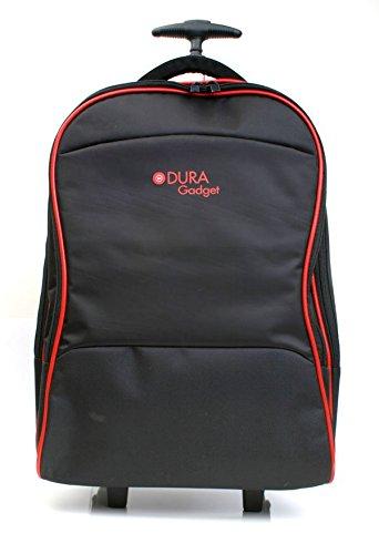 DURAGADGET Maleta de Ruedas para Viajar para Portátil Acer Aspire E5-576-392H, Medion Akoya E6439, MSI GV62 8RD-200, Medidas de Equipaje de Mano.
