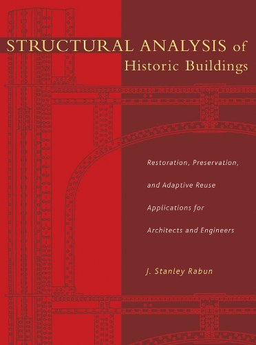 Structural Analysis of Historic Buildings: Restoration, Preservation, and Adaptive Reuse Application