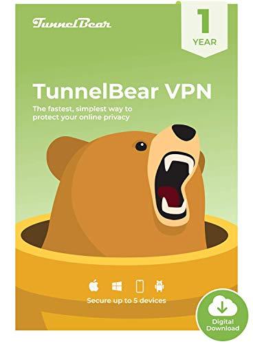 TunnelBear VPN | Wifi & Internet Privacy, Unlimited Data, 5...