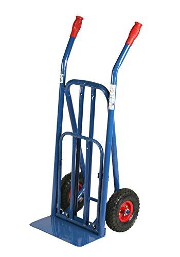 ARCHIMEDE HT Bände kg Tragkraft Trolley groß 120cm, Metall, blau, 44x 90x 118cm