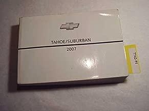 2007 Chevrolet Tahoe, Suburban Owners Manual
