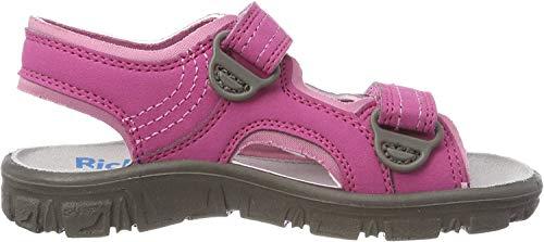 Richter Kinderschuhe Mädchen Adventure Riemchensandalen, Pink (Fuchsia/Candy), 35 EU