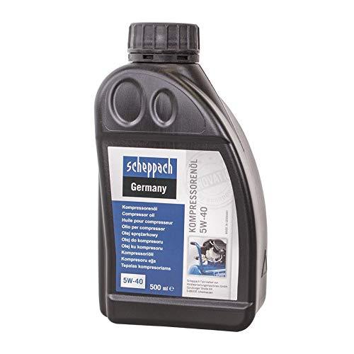 Scheppach 3906100701 Olie 500 ml, 5W-40 f. Compressoren