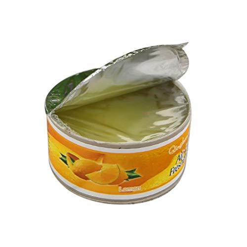 Ambientador sólido Fragancia de Aire Aseo Fragancia de Hotel Desodorante de Aire Ambientador Aroma de limón Colorido