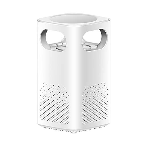 Dreafly Trampa de Mosquitos Inteligente LED Lámpara Repelente de Mosquitos de bajo Ruido USB Recargable para Dormitorio