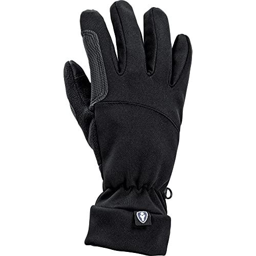 Thermoboy Unterziehhandschuhe City Handschuh 1.0, sehr weich, gutes Griffgefühl, Stretchbündchen, für Touchscreen-Gerätebedienung geeignet, Schwarz, M