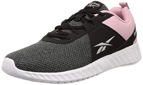 Reebok Women's Speedstar Run Black-Gravel Shoe-5 Kids UK (EW5216)