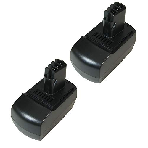 2x Hochleistungs Ni-MH Akku 14,4V 3000mAh für Metabo BSZ 14.4, BSZ 14,4 Impuls, BSZ 14.4 Impuls ULA 9,6 9.6 – 18 ersetzt 6.25482 625482