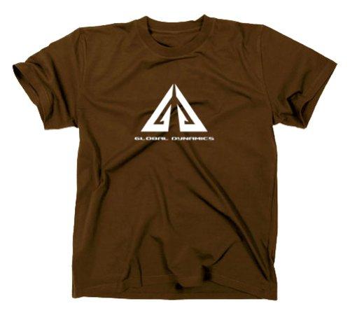 Eureka T-Shirt, Dynamique Globale, Tee XXL Marron
