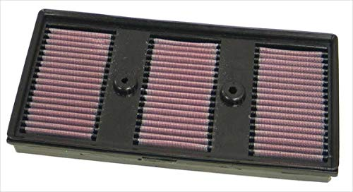 K&N 33-2869 Motorluftfilter: Hochleistung, Prämie, Abwaschbar, Ersatzfilter, Erhöhte Leistung, 2003-2010, EOS, Golf Plus, Jetta V, Touran, Passat CC, A3, Octavia