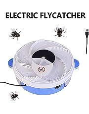 dedeka Atrapamoscas Automático para Interiores, Atrapa Moscas Eléctrico USB Asesino De Mosquitos Zappers Trampa para Moscas De Insectos - Alimentado por USB para El Hogar Hotel Al Aire Libre