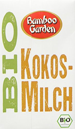 Bamboo Garden Bio Kokosmilch, 6er Pack (6 x 250 ml)