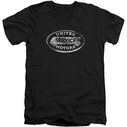 Ac Delco United Motors Service - Maglietta Slim Fit, da Uomo, Colore: Nero - Nero - XX-Large