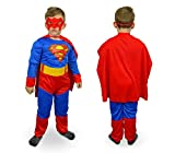 MWS 537660 Disfraz de Carnaval Motivo SUPERHEROE (3 a 12 años) - 9/12 años