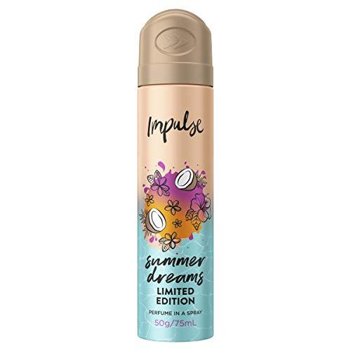 Impulse Summer Dreams Body Spray, 75 ml