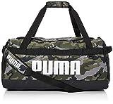 PUMA Challenger Duffel Bag M Bolsa Deporte, Unisex Adulto, Forest Night/Camo AOP, OSFA