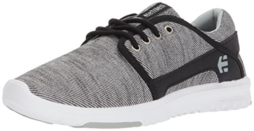 Etnies Womens Women's Scout W's Skate Shoe, Black Denim, 5.5 Medium US