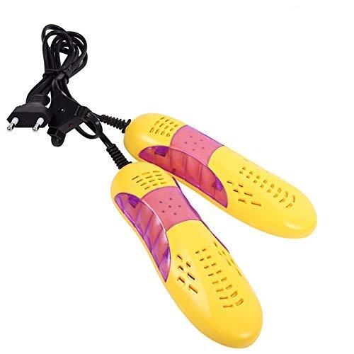 iwobi Sèche Chaussures Ski avec Lampe UV Chauffer Stérilisation Désodorisant Séchage pour Chaussures en Cuir en Tissu Bottes