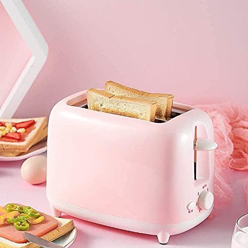 Bradoner Tostadoras de 2 rebanadas, 7 ajustes de control de pan, tostadora compacta de pan extra anchas para cocina doméstica, desayuno, bollos tostadores