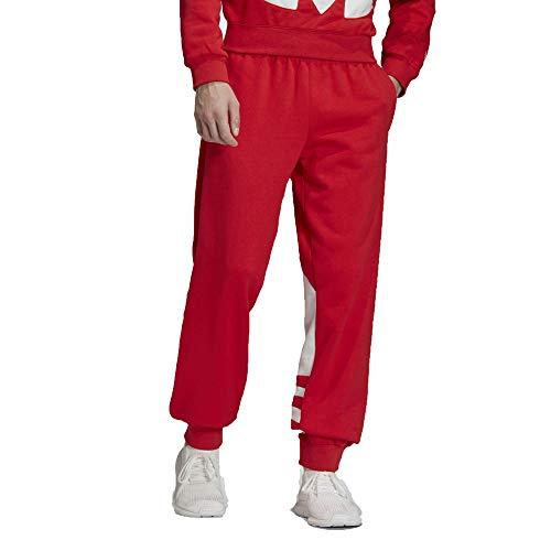 adidas Originals Men's Big Trefoil Sweat Pants, Lush Red, L