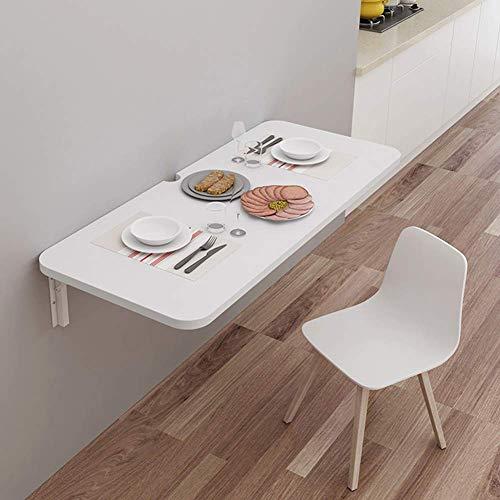 GUXINHOME Wand- Klapptisch, Esstisch, Küchen Storage Table, Studie Tisch, Metallständer,60mx40cm