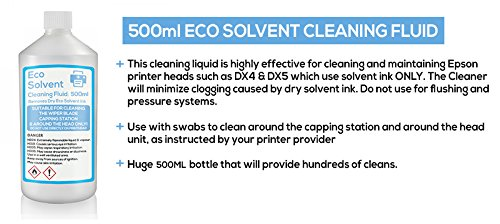 Eco Líquido de limpieza disolvente limpiador de, Roland, Mimaki ...