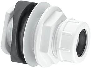 Mcalpine Bossconn-22Mm Mechanical Soil And Rainwater Pipe Boss Connector, White
