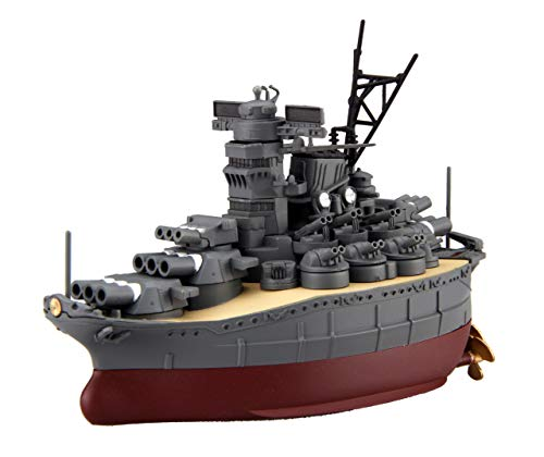 フジミ模型 ちび丸艦隊シリーズ No.1 大和 全長約11cm ノンスケール 色分け済み プラモデル ちび丸1