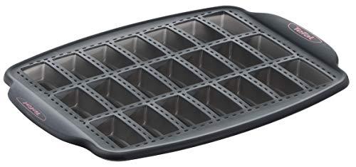 Tefal -  J4171314 - Crispybake Moule 21 mini financiers 29X21cm Silicone Noir