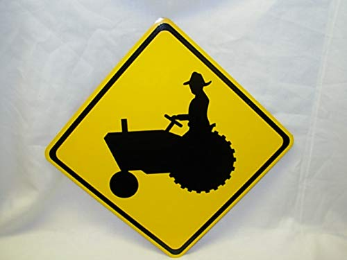 Tractor Limited price Xing Mini Metal Street Road Safety T Sign 6