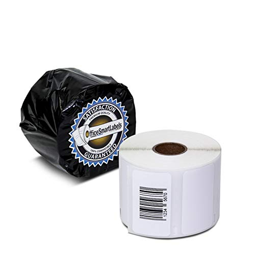 """OfficeSmartLabels - 2-1/4"""" x 1-1/4"""" Multipurpose Labels, Compatible with 30334 (1 Roll / 1000 Labels Per Roll)"""
