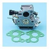Kit de juntas de carbohidratos de carburador para For Husqvarna 135 140 140e For McCulloch CS410 Cadena Sierra de cadena Motosierras Pieza de repuesto 506450501 506 45 05-01 (Color : China)