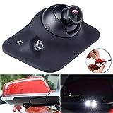 Dyoung Ega Mini HD de visión Nocturna CCD de 360 ° Grados Vista Trasera del automóvil/Vista Frontal/Vista Lateral Cámara de estacionamiento de Respaldo Cámara de Marcha atrás 2 LED