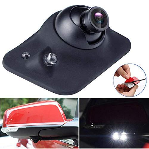 Mini HD Night Vision CCD 360 Grad Rückfahrkamera/Frontansicht/Seitenansicht Rückfahrkamera mit 2 LED