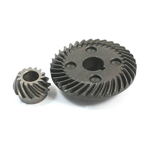 sourcingmap® onderdelen spiraal kegelwiel ring tandel set voor Hitachi G10SF3 haakse slijper de