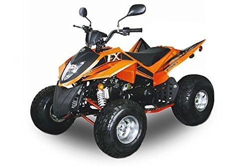 Nitro Motors AUFGEBAUT Mini Quad 150cc Roady FX150 Strassenquad EEC mit Straßenzulassung Automatik + Rückwärtsgang 8