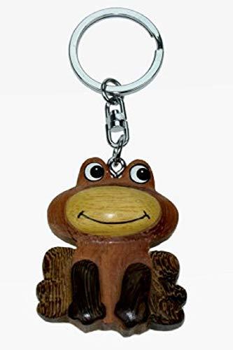 Frosch Frog Laubfrosch Kröte * Schlüsselanhänger aus Holz