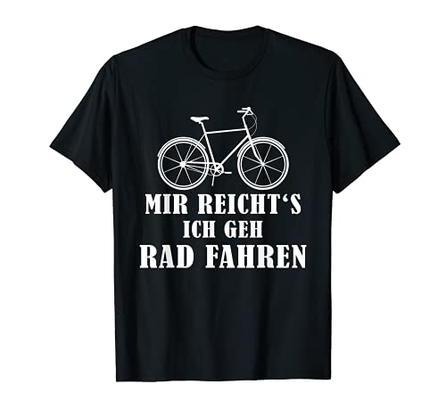Fahrrad Rad Ausdauer Rennrad Sport Trikot Spruch T-Shirt