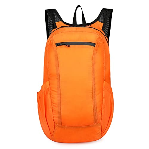 QIANJINGCQ New product outdoor folding bag, ultra-light portable travel backpack, waterproof and breathable backpack, multi-function storage, school bag, backpack