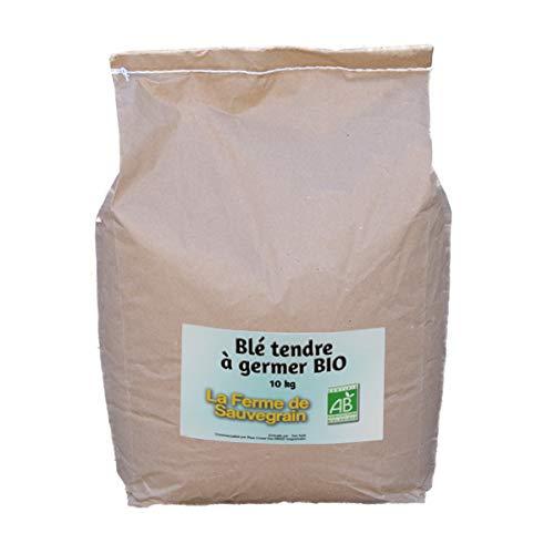 La Ferme Sauvegrain Blé Tendre à germer Bio - 10 kg
