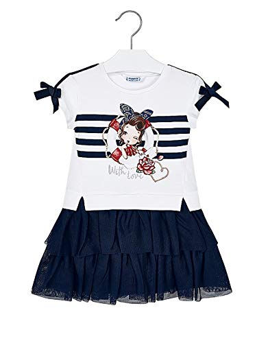 Mayoral, Vestido para niña - 3958, Azul