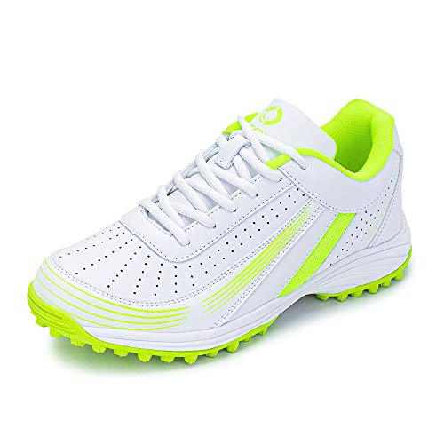LEOCI Gummi-Noppen Komfort Golfschuhe Phylon Polster Cricketschuhe Hockeyschuhe, Grn (lichtgrün), 39 EU