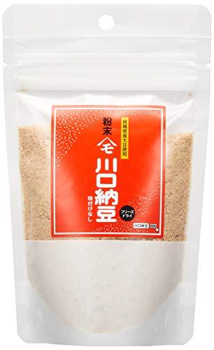 川口納豆 粉末納豆 75g (スタンドパック) 宮城県産大粒大豆使用