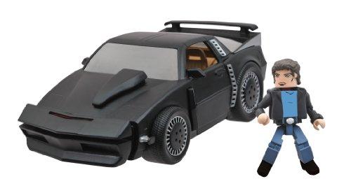 Diamond Select Toys Minimates Vehicles: Knight Rider KITT Super Pursuit Mode Set