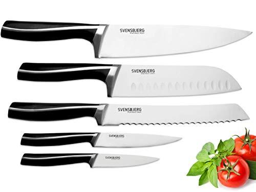SVENSBJERG - Juego de cuchillos de cocina, juego de...